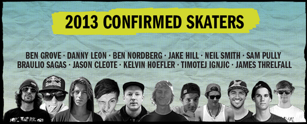 2013 Skaters announced