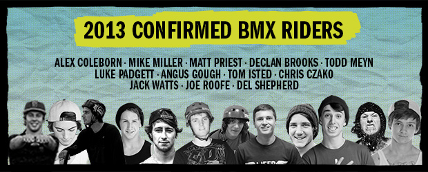 2013 BMX riders announced