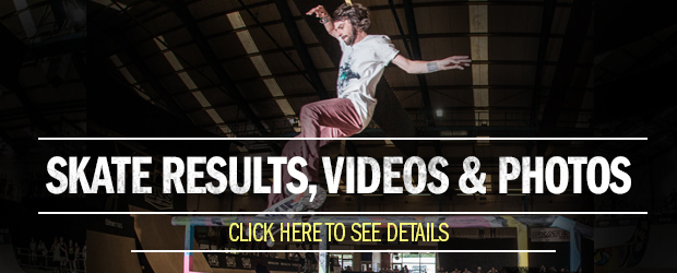 Skate Results, Videos and Photos