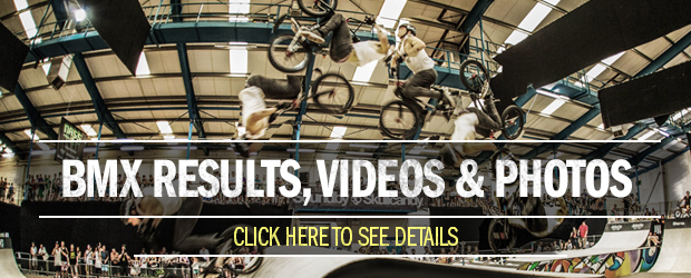 BMX Results, Videos and Photos