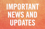 Important News And Updates