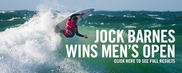 Jock Barnes Win Boardmasters Mens Open