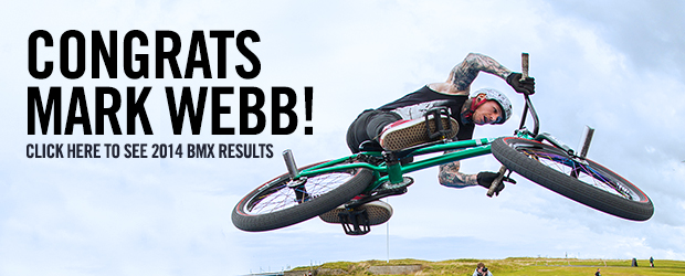 Boardmasters Mark Webb wins BMX Pro