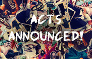 First 2015 Acts Announced