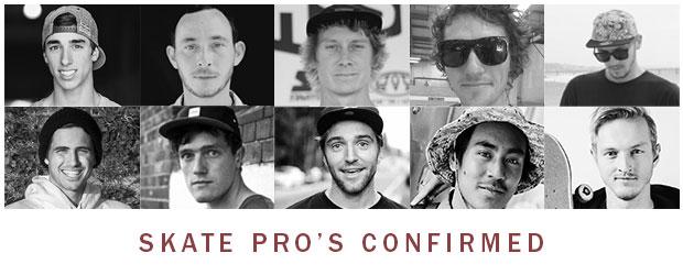 NASS Skate Pro's Confirmed
