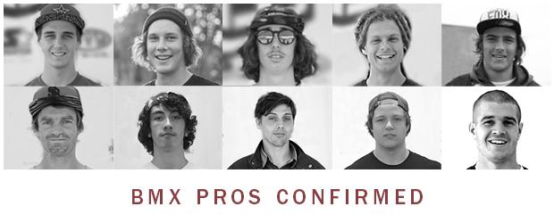 NASS BMX Pro's Confirmed