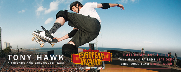 Tony Hawk & Birdhouse Team confirmed for NASS 2015
